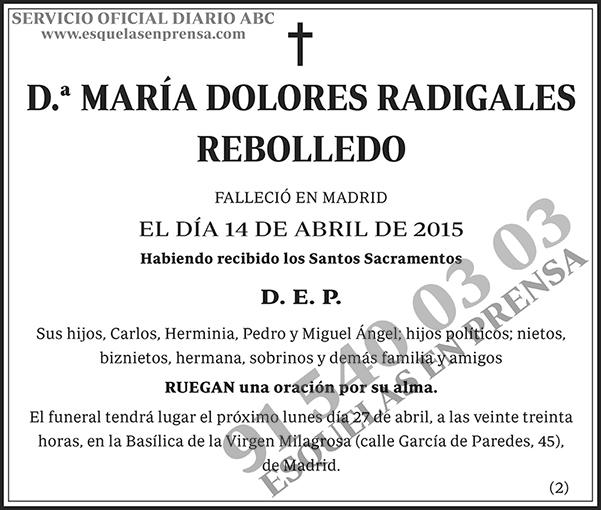 María Dolores Radigales Rebolledo